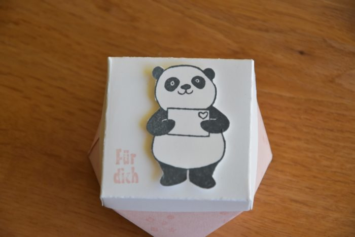 Diamantbox mit Panda
